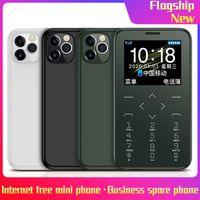 New Entsperren 7S + Handys Celulares Handfree Mic MTK SIM FM MP3 / Taschenlampe / Foto / 400MAH Kleines Handy drahtloser Bluetooth Dialer Freies DHL