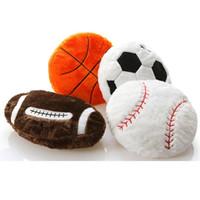 محاكاة كرة السلة البيسبول كرة القدم وسادة أريكة وسادة قيلولة الوسائد الرياضة موضوع كروية وسائد المشجعين الهدايا الزخرفية وسادة GGA1772