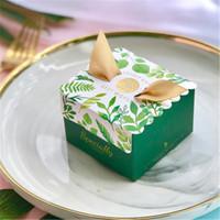 유니콘 종이 선물 가방 사각 상자 유니콘 결혼식 파티 베이비 샤워 생일 캔디 상자 생일 파티 용품