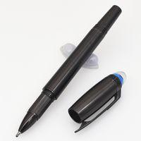 새로운 스타일 펜 블루 크리스탈 머리 수석 수지 금속 볼펜 펜 롤러 공 펜 학교 및 사무실 장비 펜 쓰기
