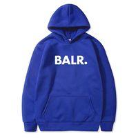 BALR أزياء العلامة التجارية الرجال هوديس جرزاية 2020 ربيع الخريف ذكر رجل عارضة مصمم لون الصلبة HOMBRE الشارع الشهير النساء مصمم سترة