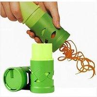 Criativa vegetal dispositivo cortador Fruit Slicer Spiralizer Fácil Decorar Veggie Twister Processamento de dispositivos da cozinha Cozinhar Ferramentas
