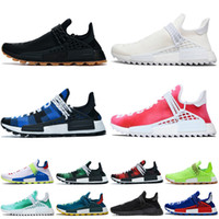 Adidas NMD Human Race pharrell williams New Luxury Designer Women Shoes Red Bottoms with box Pumps High Heels Black Nude Pointed Toe Dress Wedding Shoes 8/10/12CM 35-42