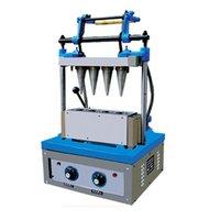 Ticari Dikey Dondurma Koni Makinesi Dondurma Koni Makinesi Yumuşak Dondurma Koni Yapma Makinesi