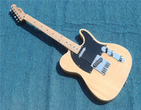Free Shipping Tailai electric guitar original wood color spe...