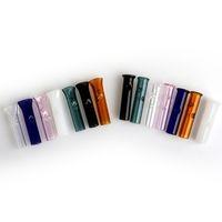 DHL !!! Filtro de vidro coloridos Dicas para o filtro de tabaco seco Herb RAW Papeles Com Cypress Hill Phuncky vidro barato Dicas Dab Rigs