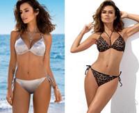 Großhandel und Big Frauen-Bikini-Sätze Badebekleidung mit hohen Taille und drei Eiliger Badeanzug Badeanzug Sexy flexible stilvollen Dreieck Sexy Sport