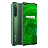 """الأصل Realme X50 برو 5G LTE الهاتف المحمول 12GB RAM 256GB ROM أنف العجل 865 الثماني النواة الروبوت 6.44 """"الهاتف الخليوي 64MP AI NFC بصمة ID"""