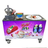 Equipo de procesamiento comercial comercial Kolice Maker Rolling Taco con máquina de helado frito
