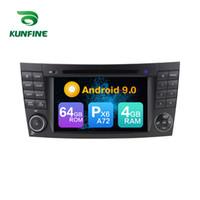 안 드 로이드 9.0 코어 PX6 A72 램 4G 롬 64 G 자동차 DVD GPS 멀티미디어 플레이어 자동차 스테레오 벤츠 E-W211 / E200 / E220 / E240 / E270 / E280 라디오 헤드 유닛에 대 한