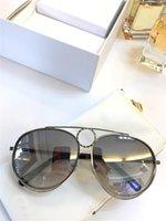 الجملة-مصمم الأزياء النظارات الشمسية شعبية 144S التجريبية الإطار أسلوب بسيط أنيق أعلى جودة نظارات حماية uv400 مع المربع الأصلي