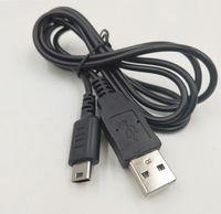 1.2M Color Negro cargador USB cable de carga de energía para Nintendo DS Lite NDSL DSL Cable de datos cable de sincronización