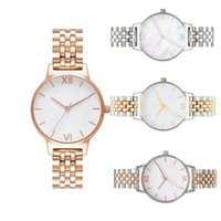 Women Stainless steel Watches New Fashion Gold   Silver quar...