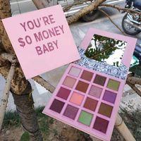 Dropshipping Dropshipping Dropshipping Palette à paupières Maquillage 16Colors Money Baby Eye Shadow Palette Haute Qualité