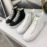 Nueva llegada Paris Brand Women Casual Shoes Stellar Luxury Designer Rainbow Color Logo Wave Pattern Women Sneaker Zapatillas de cuero genuino