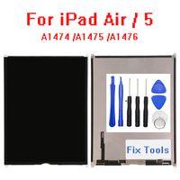 5pcs / lot Écrans originaux pour iPad 5th Air LCD Affichage A1474 A1475 A1476 Remplacement de l'écran avec Outils