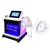 Portátil 5 em 1 profissional PDT máscara de hidra dermoabrasão máquina a jato da casca do oxigênio máquina facial