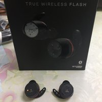 Marka Kulaklık U A DOĞRU Kablosuz Flaş TWINS Kulaklık ile Şarj Kutusu Bluetooth Kulaklık Gerçek Stereo 1pcs