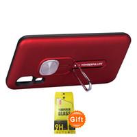 1PCS mode Téléphone avec fenêtre en verre trempé Film cadeau gratuit pour Samsung A70 A50 A20 A30 A10 M30 M20 M10 A7 2018 A750