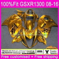Injection For SUZUKI Hayabusa GSXR1300 08 13 14 15 16 23HM.68 GSX-R1300 GSXR-1300 GSXR 1300 2008 2013 2014 2015 2016 Fairings Hot ALL Golden