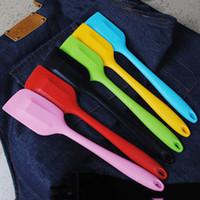 28 centimetri all'ingrosso del silicone Spatola Batter raschietto antiaderente gomma torta Spatola per cucinare cottura termoresistente sicura torta lavora il DBC DH0581