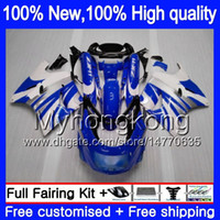 ZZR 1100 für Kawasaki ZX 11R ZZR1100 1993 1998 1999 2000 2001 208MY.66 ZX11 ZZR1100 93 ZX11R 01 ZX11R 93 98 99 00 01 Cool Blue Verkleidungs
