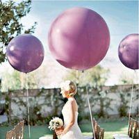 1PCS 36 Inchs Wedding Decoration Elio Gigante Ballons festa di compleanno decorazione gonfiabile Air sfera 7 colori Grandi aerostati del lattice di grandi dimensioni