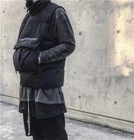 2021 Moda Spor Yelek Erkek Kadın Markalar Kolsuz Ceket Pamuk Yastıklı Aşağı Kış Rahat Mont Erkek Yelek Lüks Siyah Yelekler