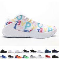 Мужской Freak 1 Баскетбол обуви для мужчин Спортивной обуви The Alphabet Soup Кроссовки Адетокунбо Тренеры Налейте Hommes Спортивного Chaussures