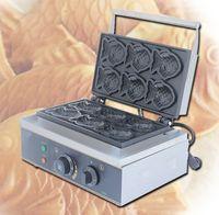 Commercial antiadhésives électrique Japon Taiyaki poisson Gaufrier fer machine Baker