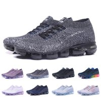 New Arrival Triple Black White Knit 1. 0 Running Shoes Pure P...