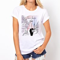 Frauen Dame drucken Grafik-Buchstabe O Hals T-shirt Sommer Mode T-Shirt Lustige T-Shirts Harajuku Kurzarm Casual T-Shirts Lovrly Tops