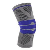 Protecteur de genou complet Automne hiver Saison complète des genoux respirants élastiques Soulagement Empêcher le soutien du genou sportif BRACE