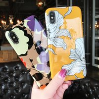 Retro Flowers Case For iPhone XS XR XS Max X 8 7 6 6S Plus G...