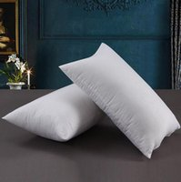 Beyaz Yastık takın Fermuar Kapatma Kapalı Açık Dikdörtgen Yastık Otel Ana Yastık Bel pillowslip takın CCA11205-A 10pcs atın