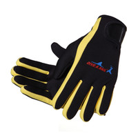 Gants de plongée en néoprène de 1,5 mm gant antidérapant en néoprène avec le bâton magique pour la natation en hiver