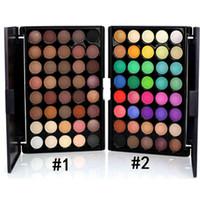 Professionale Popfeel 40 colori ombretto Opaco Glitter Impermeabile colore chiaro perlato ombretto Eye power color pastello