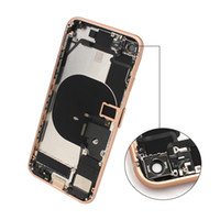 back cover for iPhone 8 8 Plus half frame chassis bezel for ...