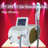 5 filtros de luz del láser e IPL RF SHR IPL máquina de depilación rápida del elight rejuvenecimiento de cuidado de la piel la eliminación vascular equipo de la belleza