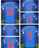 Giappone 19-20 Personalizzato 10 Nakajim Thai Quality 4 Honda Soccer Jersey 10 Kagawa 9 Okazaki 7 Shibasaki 11 Kubo Soccer Jersey Camicie indossare mens