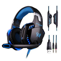 G2000 Gaming Headset Wired Casque PC auricolari stereo le cuffie con il microfono per New Xbox One / Laptop Tablet Gamer