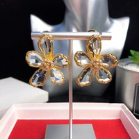 Flowers Earrings Designer Jewelry Luxury Jewelry Earrings Sp...
