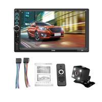 2 DIN MP5 자동차 플레이어 블루투스 터치 스크린 스테레오 라디오 카메라는 안드로이드 시스템 이미지 연결 자동차 DVD 지원