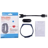 2020 M3 Smartband للياقة البدنية تعقب الضغط الذكية سوار الدم رصد معدل ضربات القلب الذكي للماء الفرقة PRO معصمه الفرقة الذكية