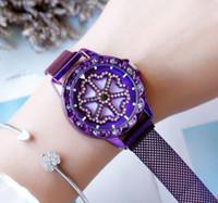 Die neue Zeit, um die Uhr laufen zu lassen Explosion Modelle Farbe Lässig Damen Magnete Mit Uhren Student Uhren Weibliche Persönlichkeit Mode Schön