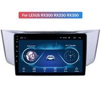 الروبوت 10 سيارة راديو فيديو لكزس RX300 RX300 RX330 RX350 DVD مشغل GPS الملاحة التبعي الوسائط المتعددة