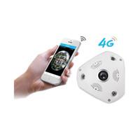 3G 4G 360 degrés panorama caméra HD HD 1080p / 3MP système de surveillance de sécurité à domicile caméra sans fil WIFI IP Webcam CCTV P2P