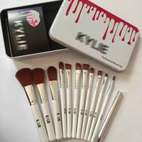 Wholesale mac makeup online - 2019 Hot sale Kylie makeup brush foundation powder blush mac makeup