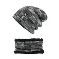 Chapéus de inverno gorros gorros de inverno para homens mulheres cachecol de lã bonés máscara de balaclava gorras gorro de malha
