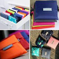 أكياس التسوق الكبيرة طوي حقيبة تسوق قابلة لإعادة الاستخدام أكسفورد بقالة حقيبة التخزين صديق للبيئة تسوق حقيبة التخزين حمل الحقائب 35 * 55CM YP152